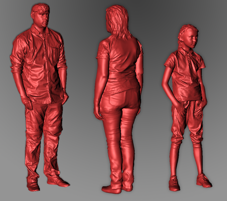 full body 3d scanning service