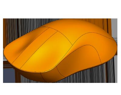Plastic mouse