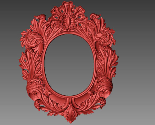 mirror frame 3d scan