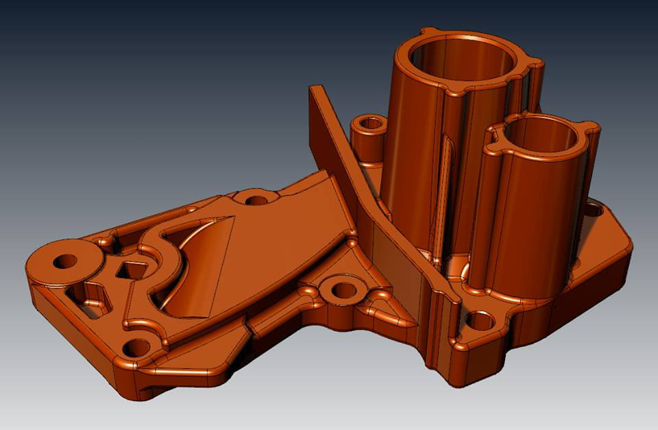 Casting part CAD reverse
