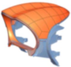 Motorbike tail fairing  3D scanning