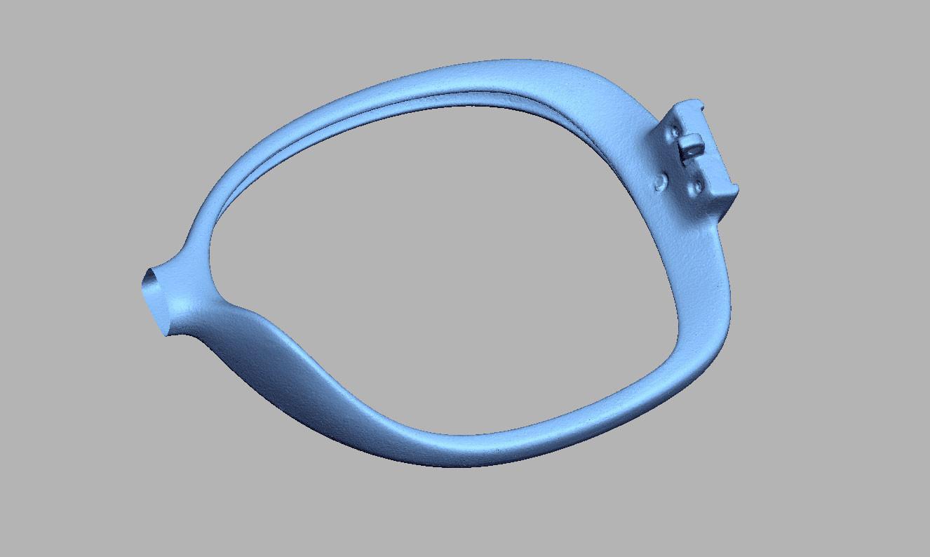 Sunglasses frame digitizing