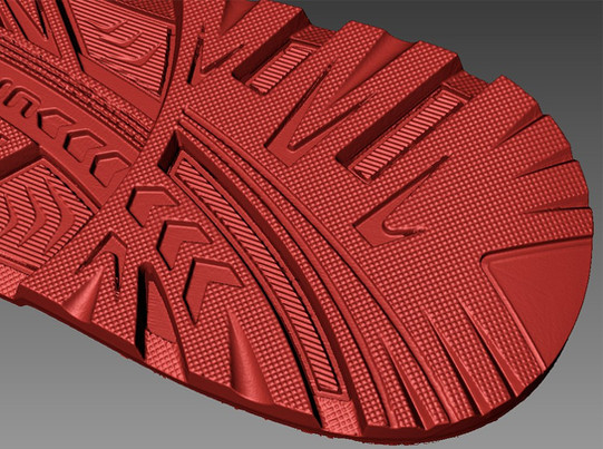 high resolution sole close up