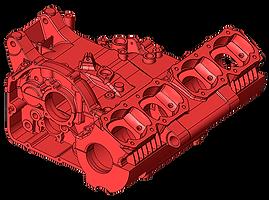 blocco motore reverse engineering