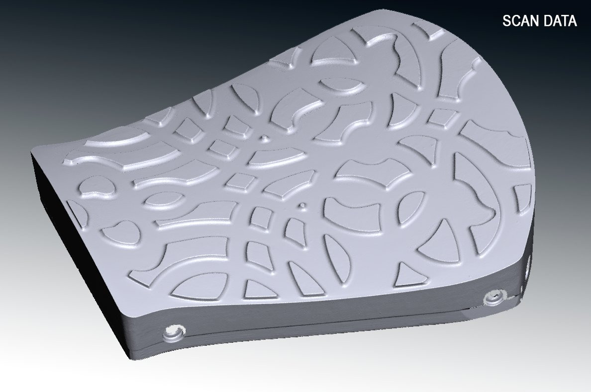 Mould 3D scan