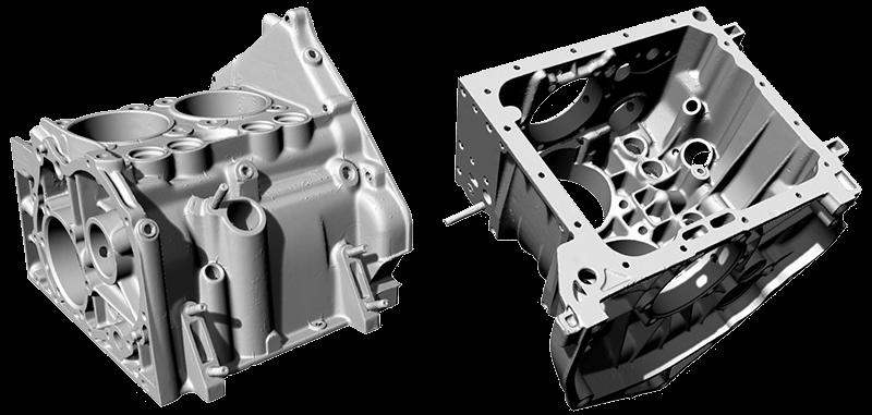 Fiat 500 engine block