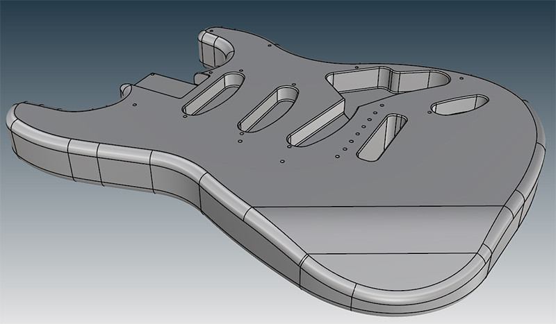 Fender stratocaster reverse