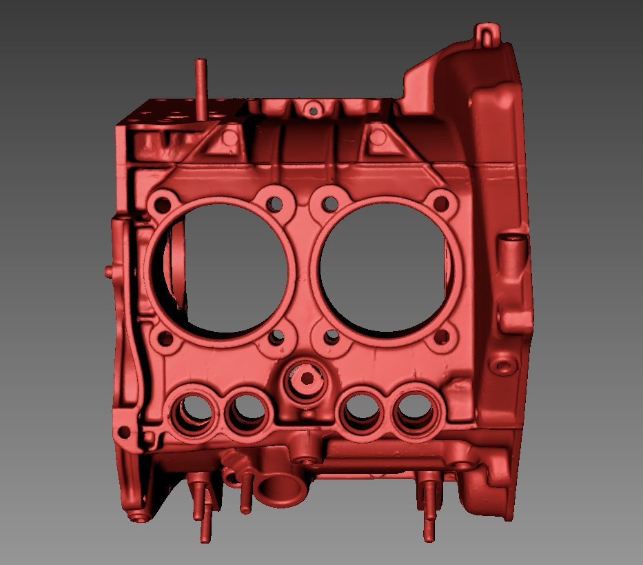 Giannini engine 3D scan