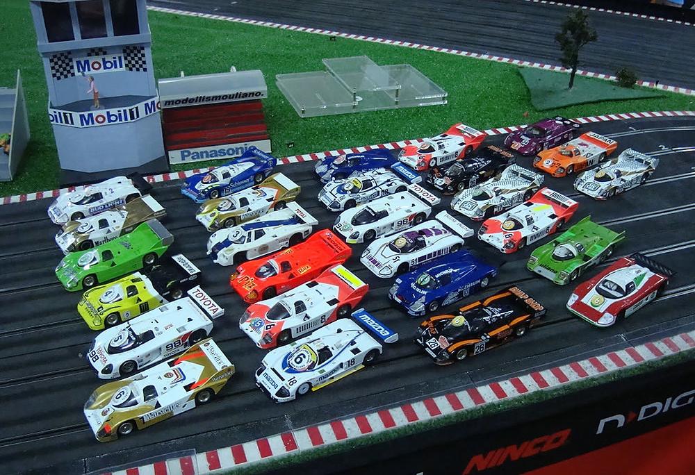 Car plastic models Kits
