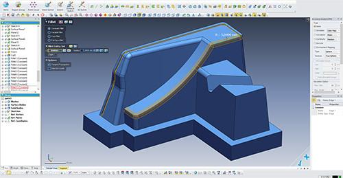CAD reverse engineering in Geomagic Design X