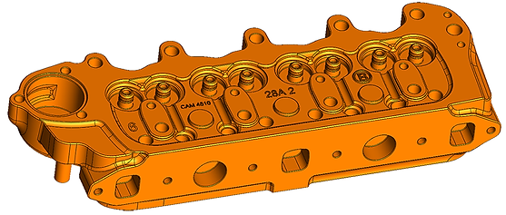 mini morris engine cad reverse