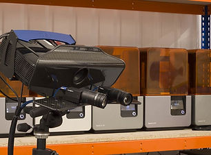 noleggio scanner luce strutturata