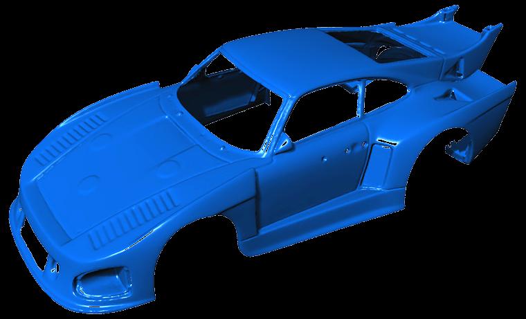 3D scanner model | STL file