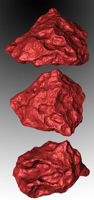 meteorite 3d scanning