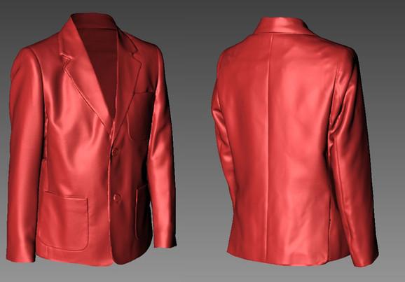 Jacket 3D scanning