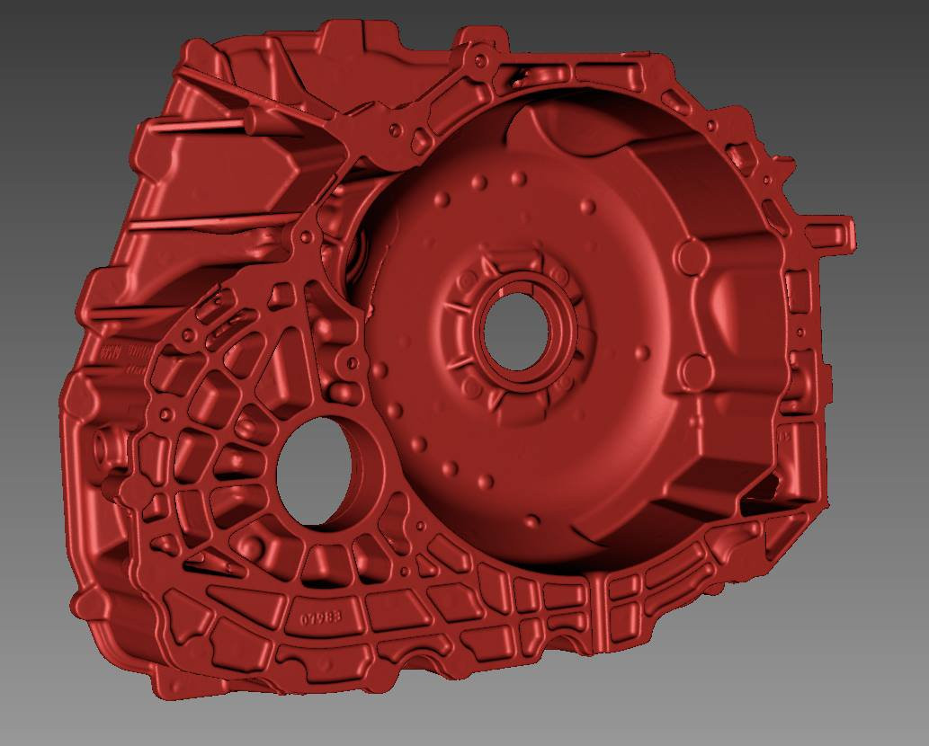 crankcase 3D digitizing