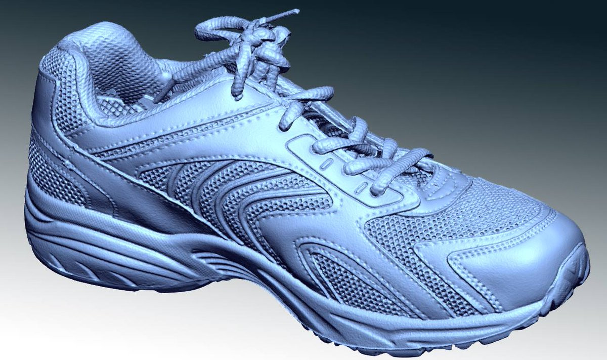 trainer 3d scan 3d  view