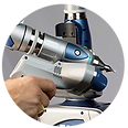 braccio 3D laser faro