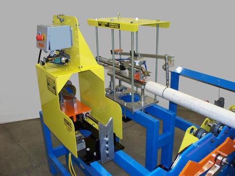 Single-Head I.D. and O.D. Chamfer Machine with I.D. Reamer