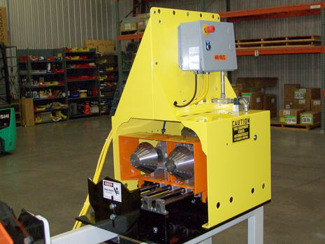 Multi-Head I.D. and O.D. Chamfer Machine with I.D. Reamer