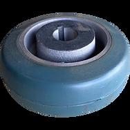 pipe lift and rotator wheel