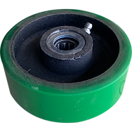 pipe pusher support wheel