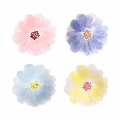 Flower Garden Plates