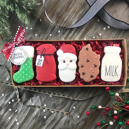 Tall Santa Gift Set