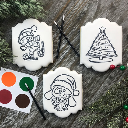 Holiday Paint Your Own Cookie
