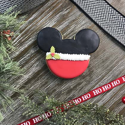 Festive Mickey Cookie