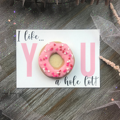 Mini Donut Cookie Card *SOLD OUT*