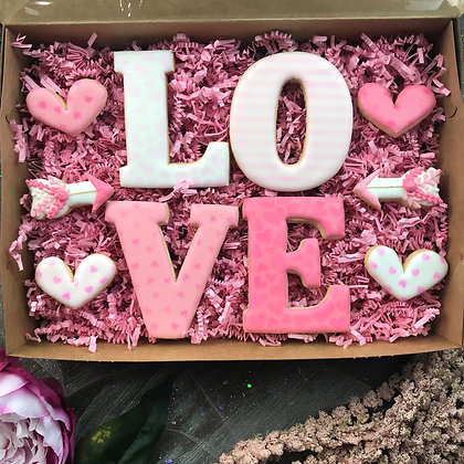 Love Box Cookie Gift Set *SOLD OUT*
