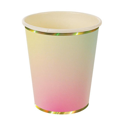 Iridescent Ombre Cups