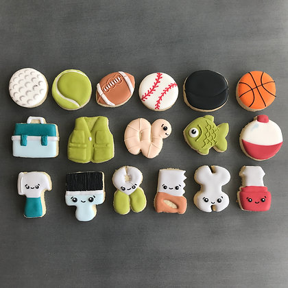 Mini Father's Day Cookie Sets *SOLD OUT ONLINE*