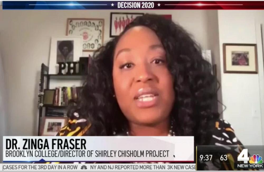 Zinga Fraser, PhD, WNBC TV Channel 4 Interview