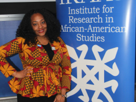 Dr. Zinga Fraser Presents on Representatives Chisholm and Jordan at Columbia University