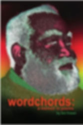 Book Cover for WordChords: A Memoir in Poems by Len Fraser (Author) , Marie M. Placide (Cover Design)
