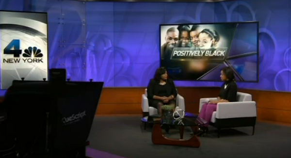 Zinga Fraser, PhD on WNBC Positively Black with Tracie Strahan