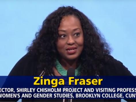 "Dr. Zinga Fraser At Brooklyn Historical Society: ""Women in Politics: Brooklyn & Beyond"" 11/8/16"