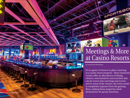 Meetings & More at Casino Resorts