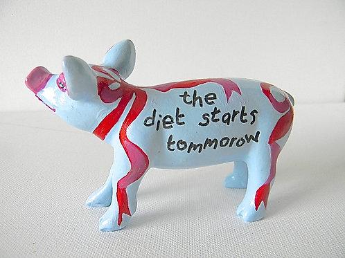 The Diet starts tomorrow Mini Pig - PP-R1362