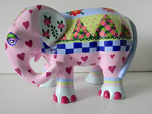 Hearts on Pink Elephant - PP-R3338