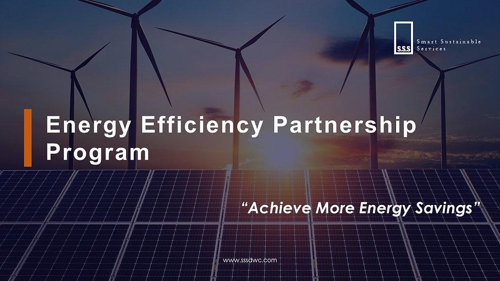 Energy Efficiency Partners Program for S