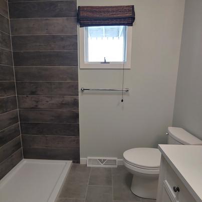 bath tile work
