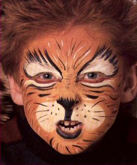Maquillage pour enfant.