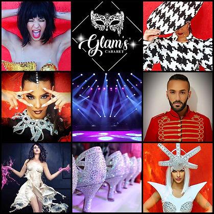 Revue Cabaret  Glam's