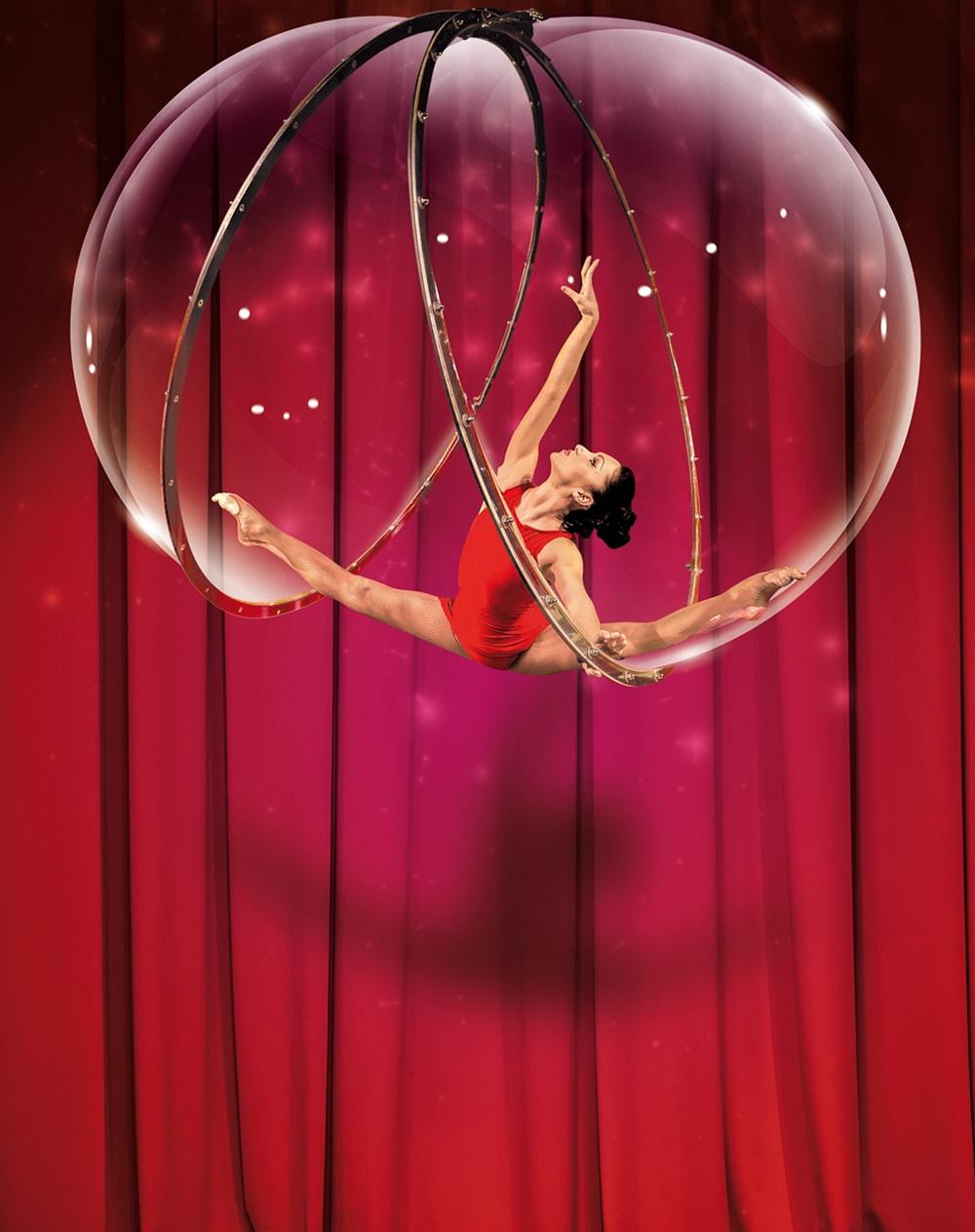 Numéro acrobatique