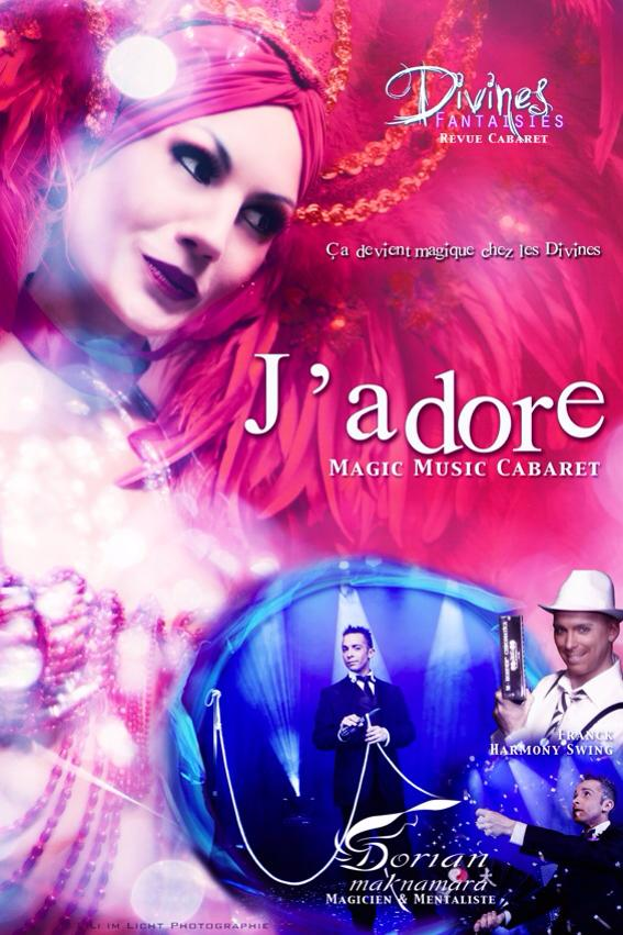 """Revue-Cabaret  """"J'adore"""""""