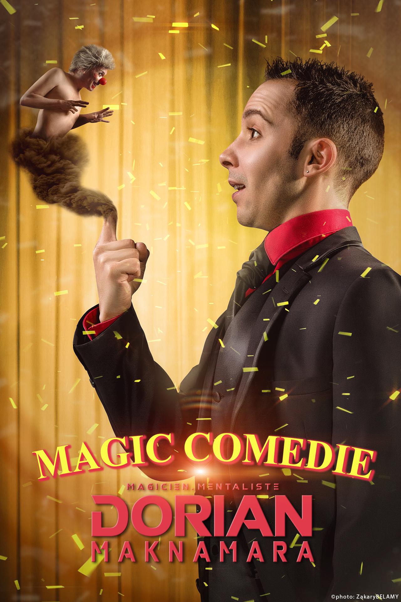 Dorian Maknamara - MAGIC COMEDIE