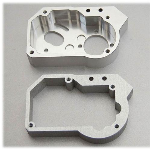 CNC Aluminum Rapid Prototype Sand Blasting